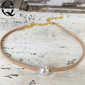 1Pc Freshwater 100% Natural Pearl Bracelet White Pearls Women Bracelet With Pearl fine Jewelry de perle
