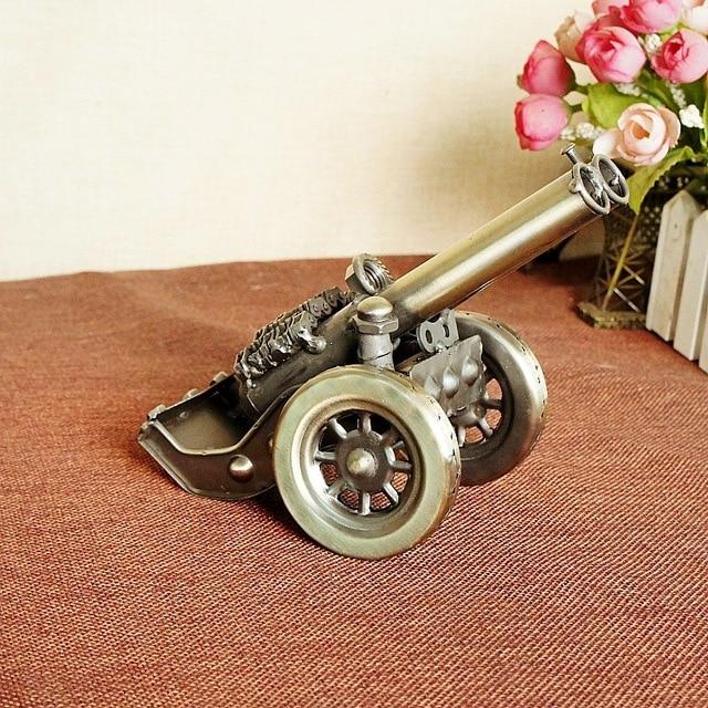 Нежный золотой ручной классический коллекционные домашнего декора старинное оружие кэннон модель строительство игрушки для детей дети подарок