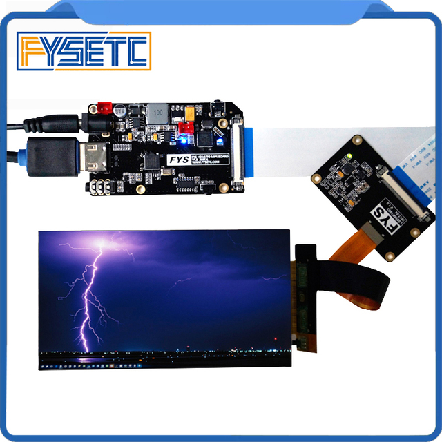 US $41 42 5% OFF|5 5 inch 2k LCD Module LCD Screen Display and HDMI MIPI  Driver Board Replacement For Wanhao Duplicator 7 3D Printer VR Glass-in 3D
