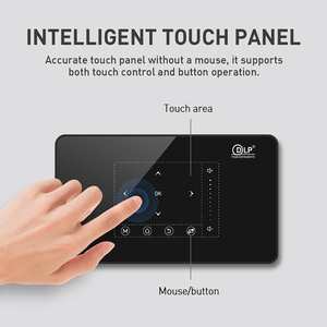 Image 3 - Smartldea P10 미니 스마트 DLP 프로젝터 안드로이드 9.0 wifi 비머 블루투스 4K 내장 배터리 터치 키 Airplay Miracast DLNA