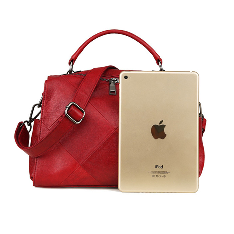 Big size top qualität Leder Männer Tasche Casual Retro Echtes Leder Reisetasche Mode Trend Handtasche Schulter Umhängetasche A4261 - 4