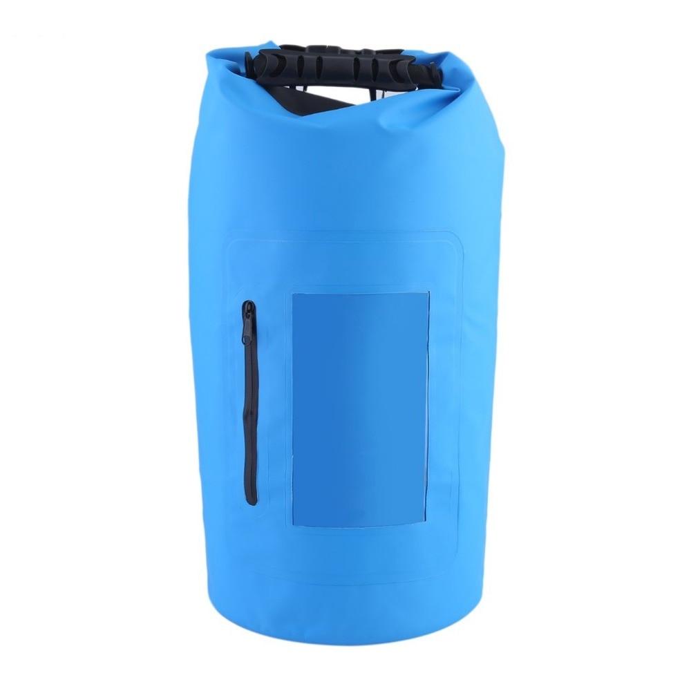 30L sac sec Portable étanche rouleau Top sac polochon avec poignée de grippage universel sac de vitesse sèche Kit de sac de survie Durable