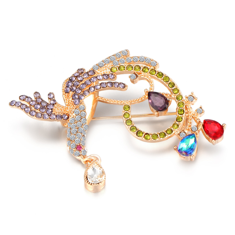 Jewelry Sets & More 2019 Fashion Maikale Rhinestone Spider Brooch Pins Crystal Broche Insect Brooches For Women Cloth Shirt Suit Kids Bag Accessories Charm Gifts