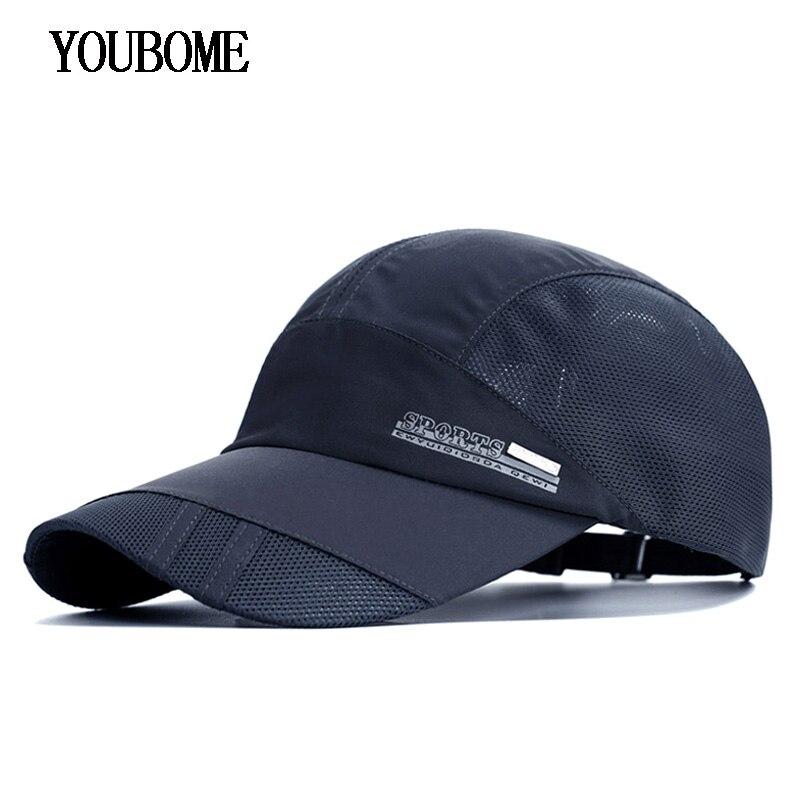 YOUBOME Men Baseball Cap Brand Snapback Caps Women Hats For Men Summer Mesh Casual Casquette Bone Male Bone Female Dad Cap Hat