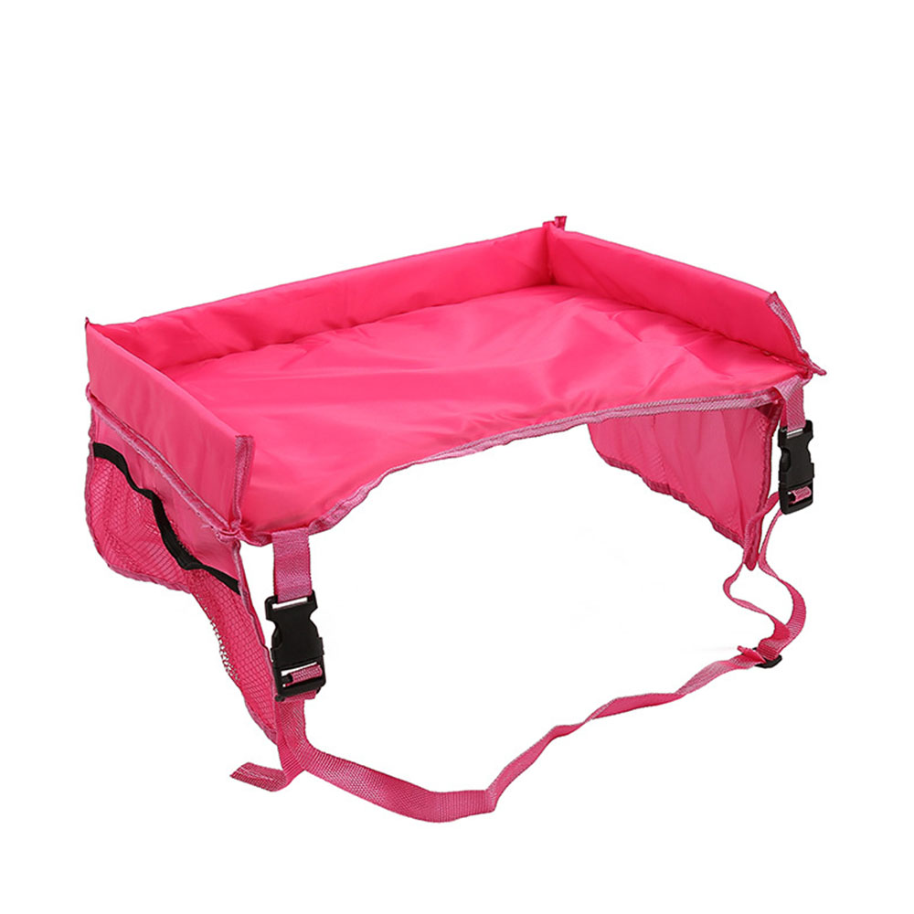 Waterproof Baby Table Car Seat Tray Storage Kids Toys Baby Stroller Holder Food Desk Infant Stroller Holder Storage Kids Toy