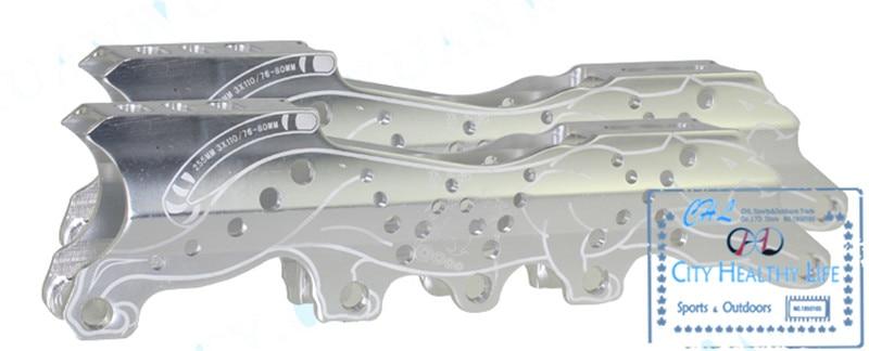 [3-Rrota / 4-Rrota] Baza e rrumbullakimit me shumë qëllime, 3X110mm 4X80mm, Për Frames Skates me Shpejtësi Inline, Slalom FSK Slide Braking