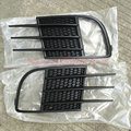 Black Golf 6 MK6 Front fog lamp Grille light protection frame trim (GTI style) fit Volkswagen Golf MK6 Accessories