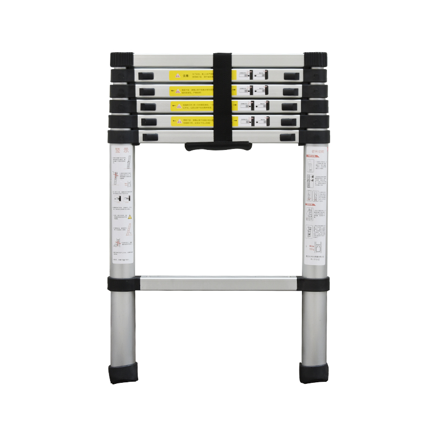 DLT-A Portable Safety Thick Aluminum Alloy Extension Ladder Single-sided Straight Ladder 2 Meters Household Seven Steps Ladder