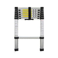 DLT A Portable Safety Thick Aluminum Alloy Extension Ladder Single sided Straight Ladder 2 Meters Household Seven Steps Ladder