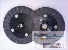 Lenar 254 tractor parts, the set of clutch plates (main and auxiliary)
