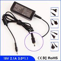 19 V 2.1A Adaptador Ac Laptop Power SUPPLY + Cord para Samsung NP900X3E NP900X3C-A02US NP900X3C-A01US NP900X3C 900X3D 900X3C
