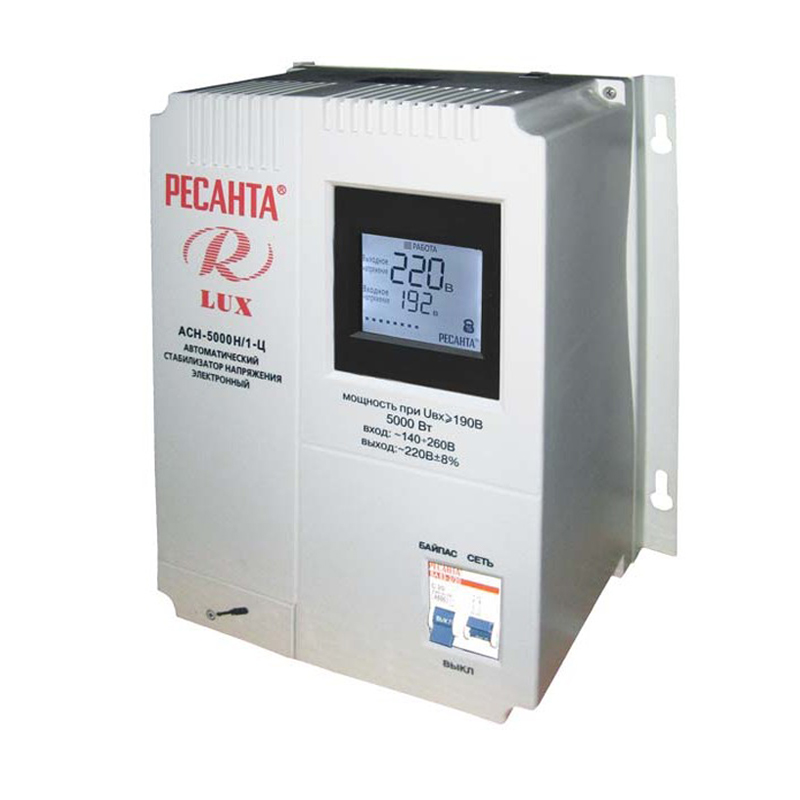 Voltage stabilizer RESANTA ASN-5000 N/1-C