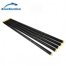 BlueSardine New Carp Fishing Pole Stream Hand Rod Telescopic Fishing Rod Carbon Fishing Tackle  4.5M 5.4M 6.3M 7.2M 8M