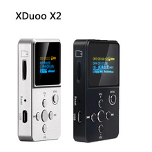 XDUOO X2 Professional MP3 HIFI Music Player with OLED Screen Support MP3 WMA APE FLAC WAV Format