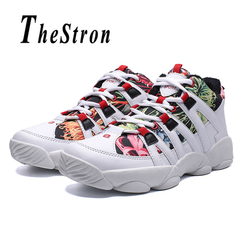 Man Running Shoes White Black Mens Winter Fur Sneakers Comfortable Gym Trainers Shoes Men Lace Up Athletic Shoes For Male