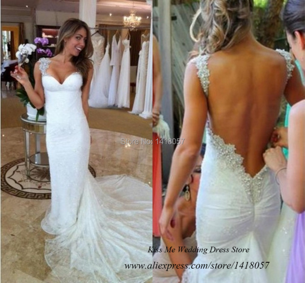 52 perfect low back wedding dresses lace backless wedding dress Essense of Australia Backless Lace Mermaid Wedding Dress