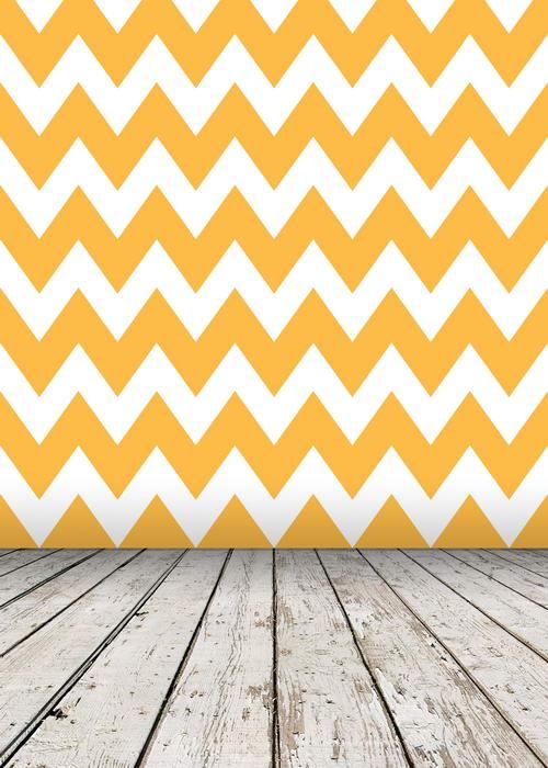 Customize vinyl cloth print orange chevron pattern textured floor photo backgrounds for portrait photography backdrops F-825 custom vinyl cloth print blue textured