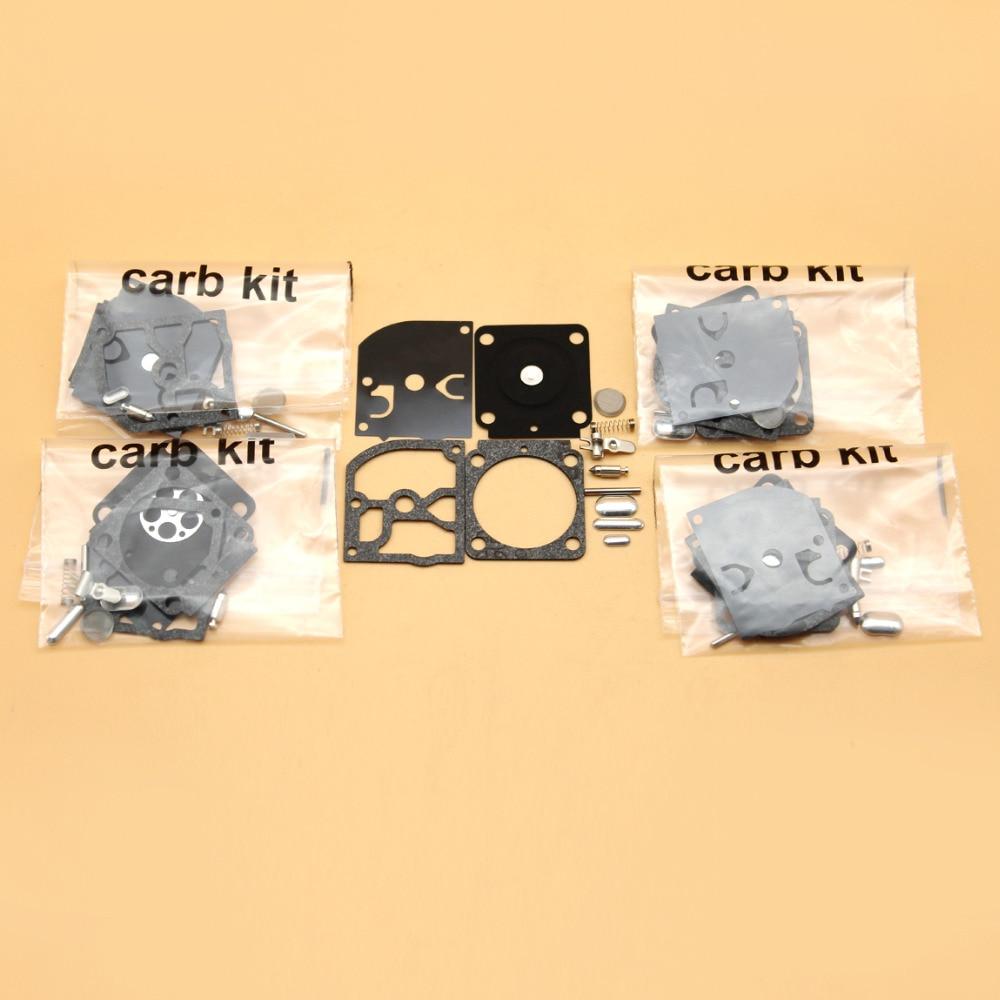 5Set/lot Carburetor Diaphragm Repair Kit For STIHL BG45 BG55 BG65 BG85 SH55 SH85 FS 38 55 120 200 250 300 350 Zama C1Q-S68G