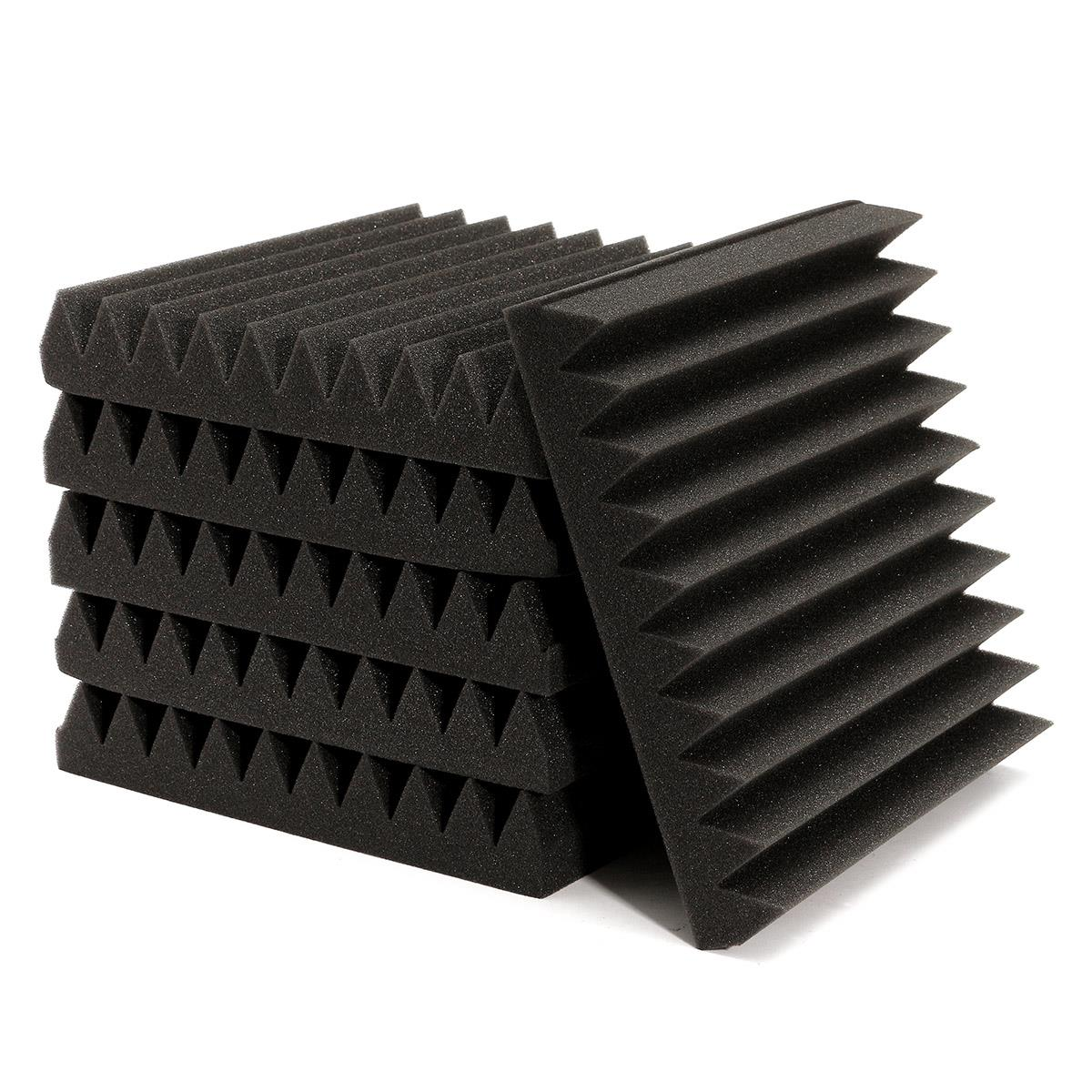 Wall Soundproofing Material : Newest pcs soundproofing acoustic wedge foam tiles wall