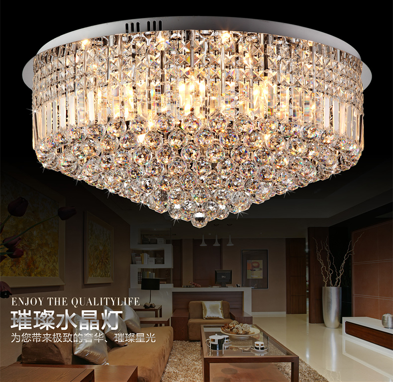 Lovely Hot Sale,modern Luxury K9 Crystal Ceiling Lamp,fashion Crystal Light,living  Room/hotel Crystal Lamp In Ceiling Lights From Lights U0026 Lighting On ... Part 13