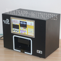 2016 Nail And Flower Printer Machine Digital Nail Art Printer 4500 Designs Inside With Various Colors