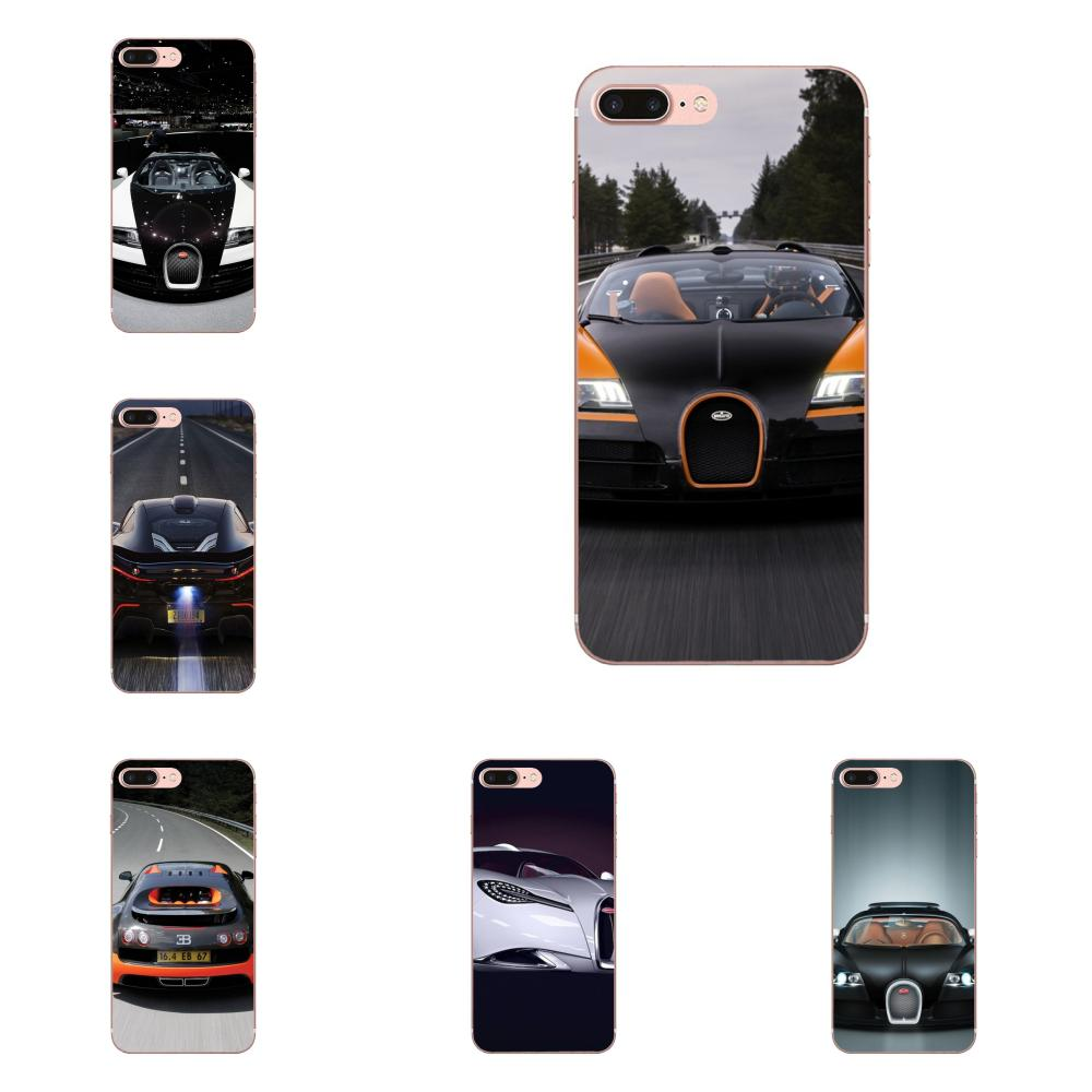 >TPU Fashion Cover Case For Apple iPhone X XS Max XR 4 4S 5 5C 5S SE 6 6S 7 8 Plus Luxury <font><b>Sports</b></font> <font><b>Racing</b></font> <font><b>Car</b></font> Bugatti Copper