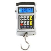50 kg x 10g Portátil de Mano Electrónico LCD Retroiluminación Correa del Gancho de Pesca Del Equipaje de Digitaces Escala Colgante Balanza de Pesaje escala
