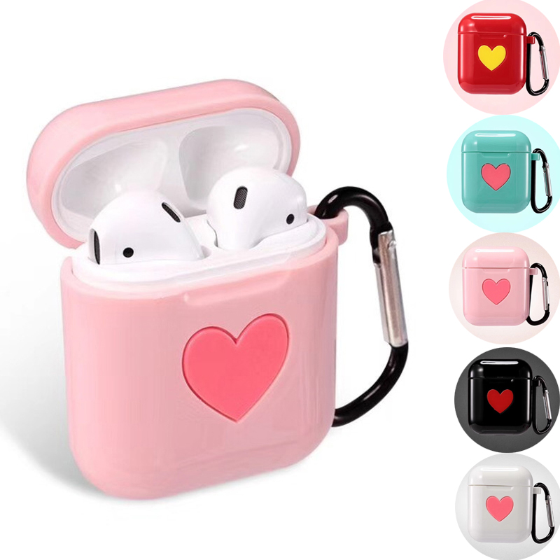 все цены на Bluetooth Wireless Earphone Shockproof For Apple AirPods Case TPU Silicone Charging Headphones Protective Cover For Airpods Case