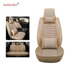 Kalaisike универсальные чехлы сидений автомобиля для Suzuki все модели swift sx4 grand vitara Kizashi S-CROSS VITARA Baleno Авто стиль