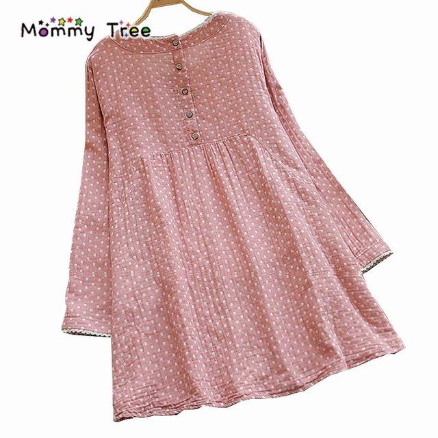a903dd74b1 Comfortable Cotton Linen Maternity Dresses Autumn Spring Dress for Pregnant  Women Plus Size Maternity Clothes Pregnancy Dress