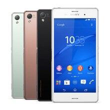Разблокирована оригинальный Sony Xperia Z3 D6603 сотовый телефон 5.2 «20.7MP четырехъядерный Android OS 16 ГБ Встроенная память 3 ГБ Оперативная память Z3 телефон