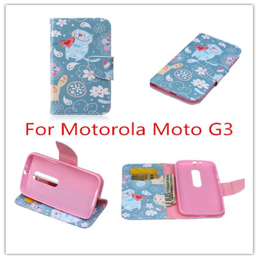 ✅Pintado patrones Carcasas capilla para Motorola Moto G3 cubierta ...
