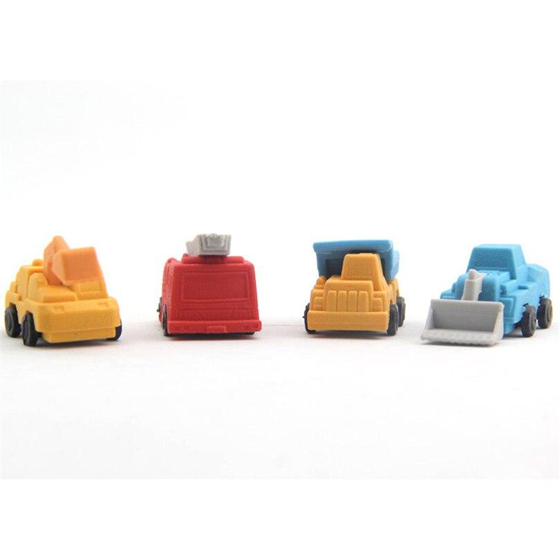 1 Pcs Cute Kawaii Shop Truck Eraser Lovely Cartoon Eraser Boys Student S Gift School Supplies