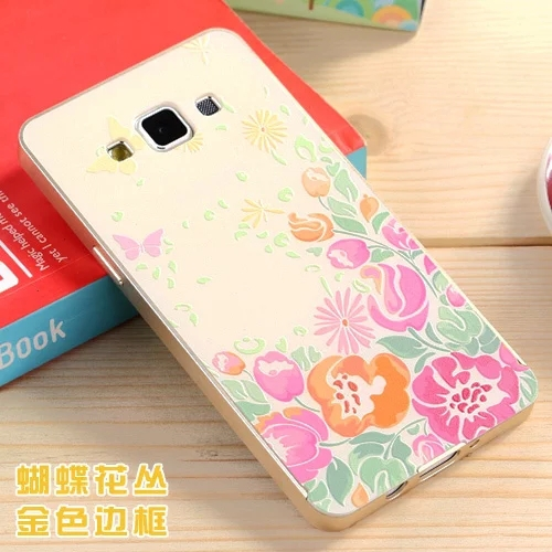 best loved 1c8d6 9018f US $8.99 |Fashion 3D colorful Painting mobile Phone Plastic back cover  Aluminum metal frame For Samsung Galaxy A5 case A500 5.0'' on  Aliexpress.com | ...