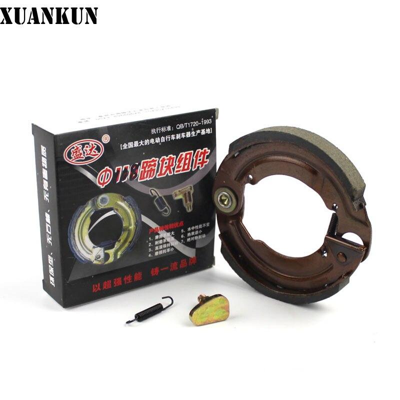 XUANKUN Electric Car Brake Pads 108 Brake Pads Electric Car Up Brake Skin font b Battery