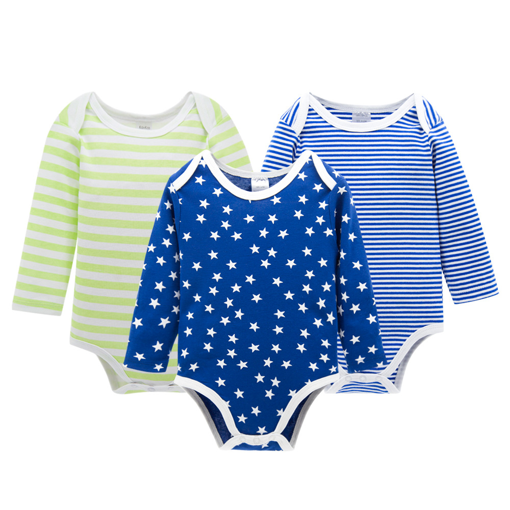 4Pcs Baby Rompers Summer Baby Boy Clothes Cotton Baby Girl Clothes Newborn Baby Clothes Roupas Bebe Infant Jumpsuits Kid Clothes