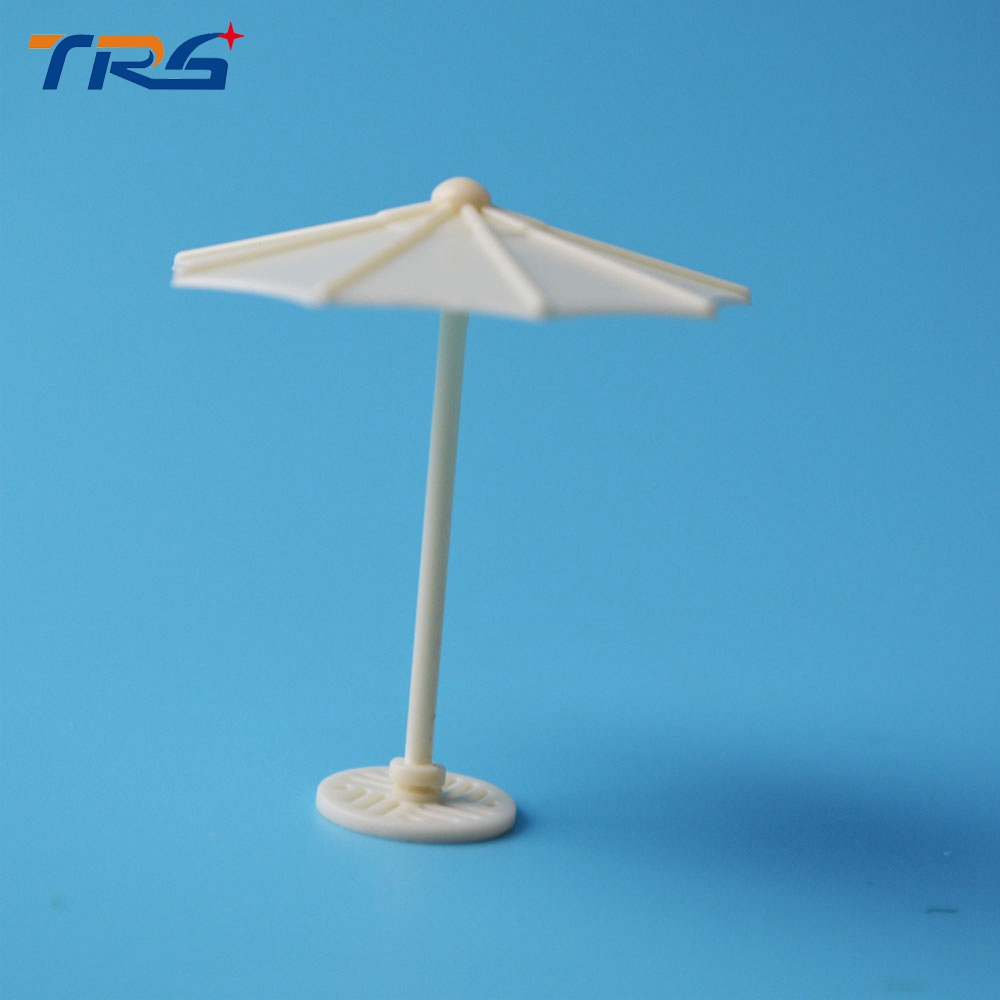 50pcs/lot scale model artificial kits umbrella didactical doll 1:100