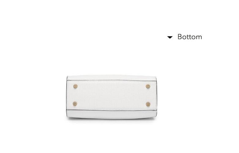 Elegant fashion 2018 new trendy fashion handbags simple wild rainbow ... e9f8fdd449