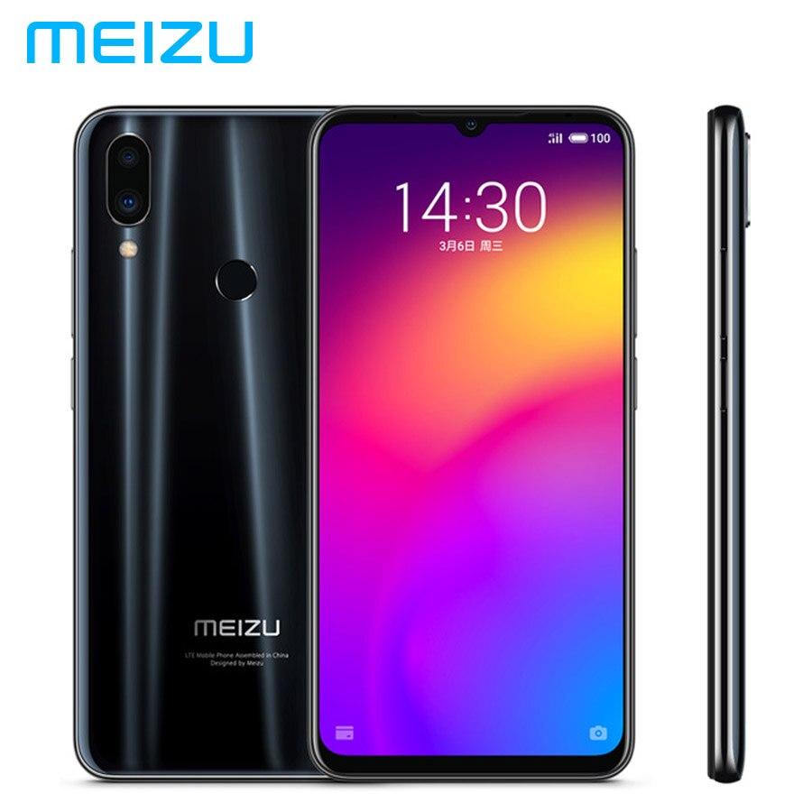 Meizu nota 9 lte câmera dupla do sim 48mp do telefone móvel 4 gb 64 gb snapdragon675 octacore 6.2