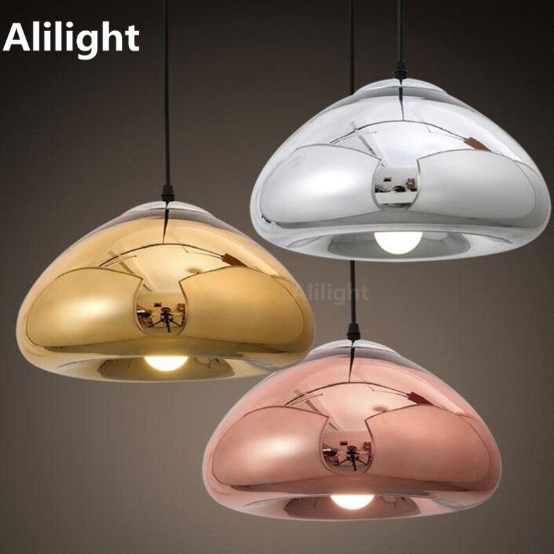 Modern Novelty Classical Design Mini Glass Bowl Pendant Lights For Dinning Living Room Bar Coffee Shop