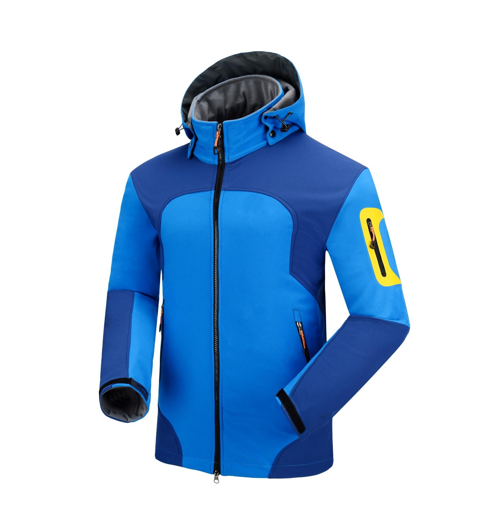 купить 4 colors Softshell Jacket Men Outdoor Hiking Camping Sport Jacket Ropa Senderismo Hombre Chaqueta Soft Shell Thermal clothing по цене 5565.6 рублей