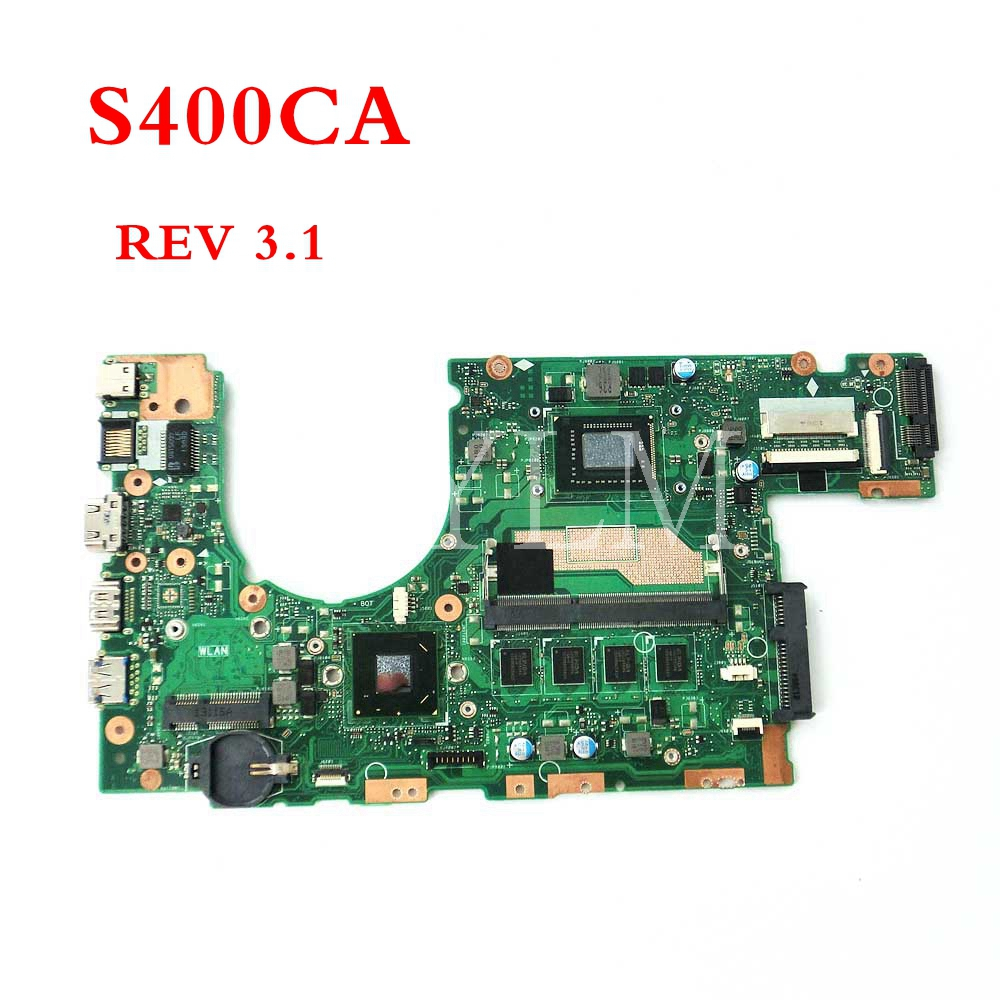 S400CA <font><b>motherboard</b></font> with I3-2365 CPU 4GB mainboard For <font><b>ASUS</b></font> S400 <font><b>S400C</b></font> S400CA S500CA S500C laptop <font><b>motherboard</b></font> image