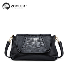 HOT 2018 designed Woman leather bag ZOOLER luxury Genuine leather bag shoulder messenger bags high quality bolsa feminina #L120