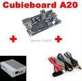 PC Cubieboard A20 Двухъядерные Совет По Развитию с Силовой Кабель SATA Wire USB к TTL Line