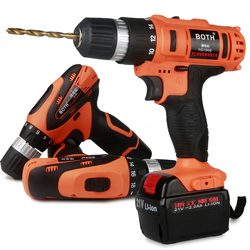 купить 12V Electric Screwdriver Lithium Battery Rechargeable Parafusadeira Furadeira Multi-function Cordless Electric Drill Power Tools недорого