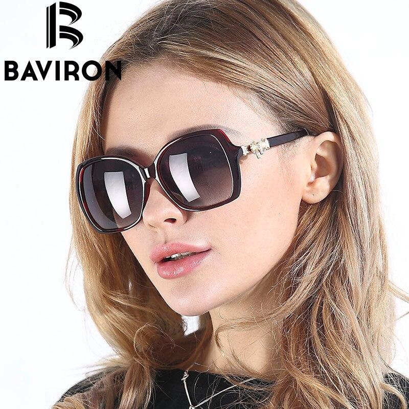 BAVIRON Brand Women Sunglasses font b Polarized b font Lens Butterfly Inset Frame font b Fashion
