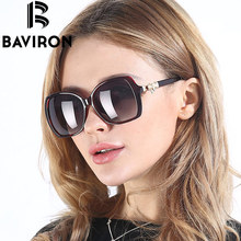 BAVIRON Brand Women Sunglasses Polarized Lens Butterfly Inset Frame Fashion Sun Glasses Woman Party Girl Glasses Eyewear 8514