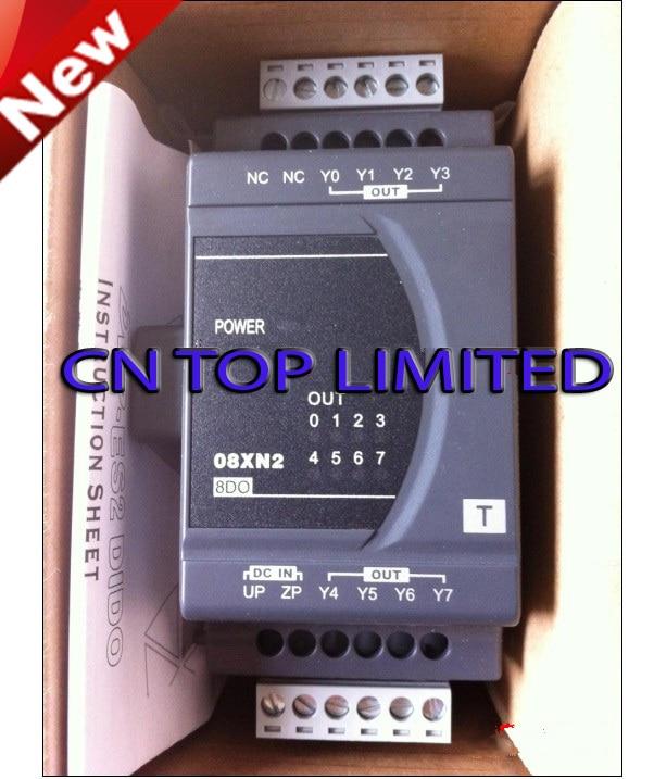 DVP08XN211T Delta ES2/EX2 Series Digital Module DO 8 Transistor 24VDC new in box dvp08hn11t delta eh2 eh3 series plc digital module do 8 transistor new in box