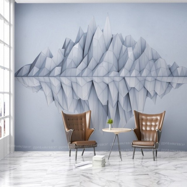 Vergleichen Dropship Fatman 3D Tapete Für Wände Landschaft ...