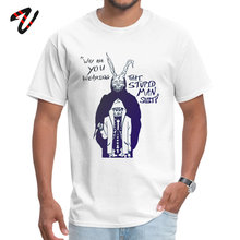 Donnie darko Round Neck T-shirts Summer Tops T Shirt Atheist Sleeve 2019 Fashion Pure Moth Funny Tshirts Adult